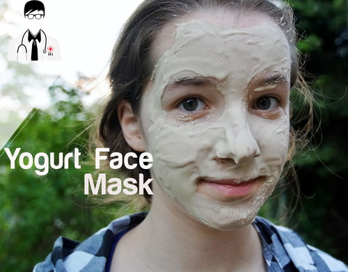 Yogurt Face Mask for Acne